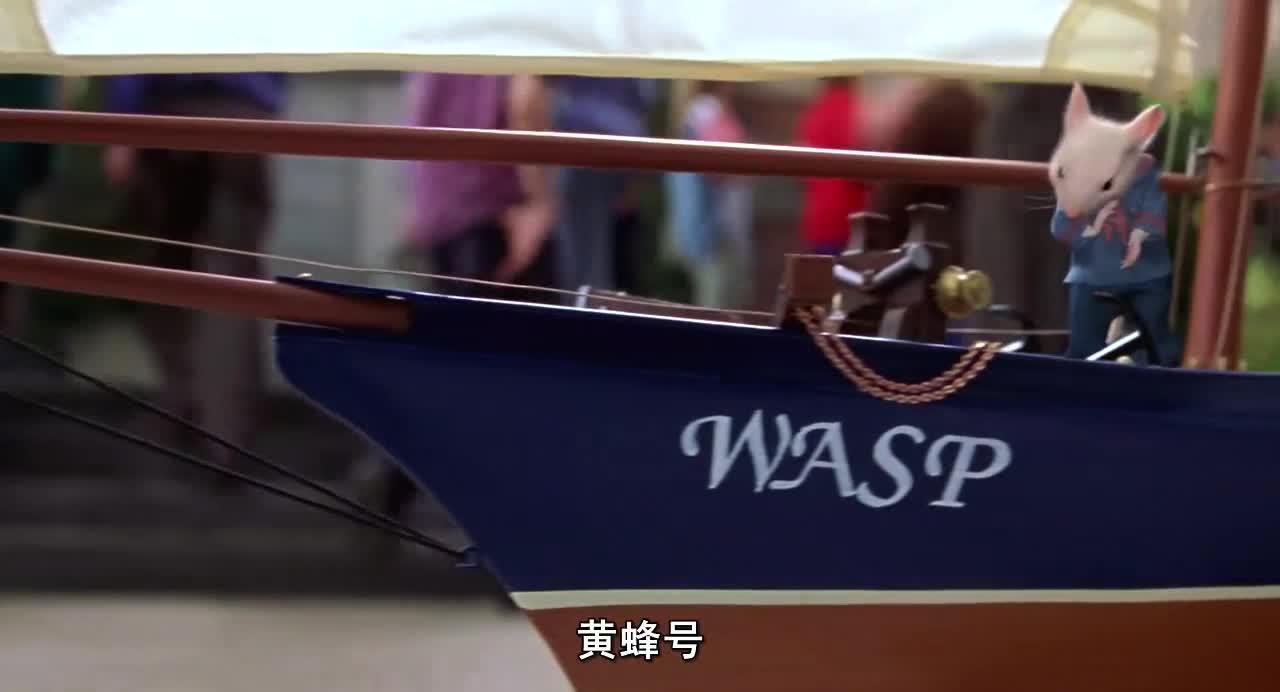 孩子参加帆船大赛,老鼠暗中在船里帮忙,太有心机了