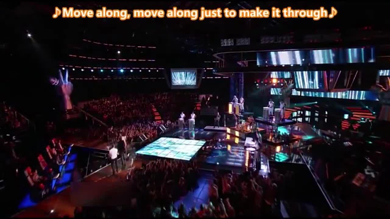 四位八强选手的合作舞台,他们的表演越来越精彩了