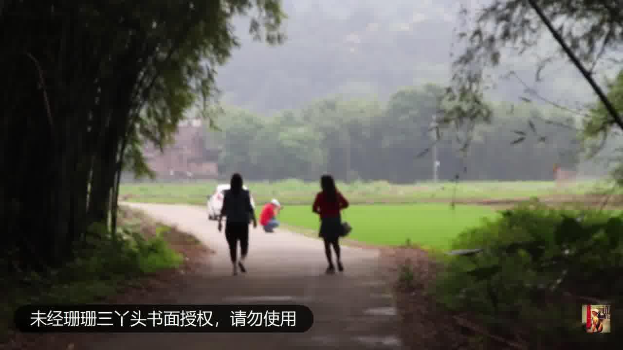 翠峰清兮之清远行丨凤塱古村路上,田园风光