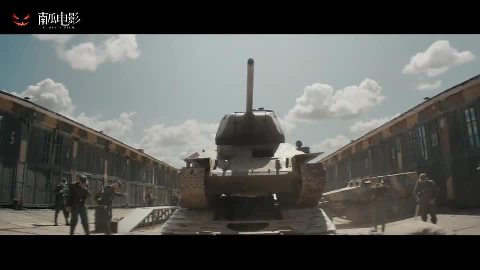 """#电影迷的修养#T34坦克不愧是t34坦克,号称能打败""""黑豹""""坦克,太厉害了"""