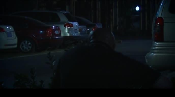 小区保安监守自盗居然在业主汽车上乱画