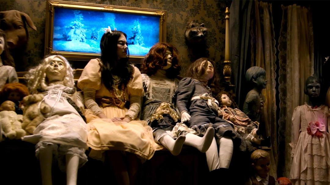 #电影最前线#2018高分惊悚片《噩梦娃娃屋》,悬疑惊悚的恐怖大作!