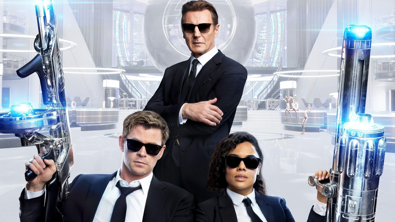 #电影解说#《黑衣人:全球追缉》看雷神、女武神化身黑衣人,联手打外星人