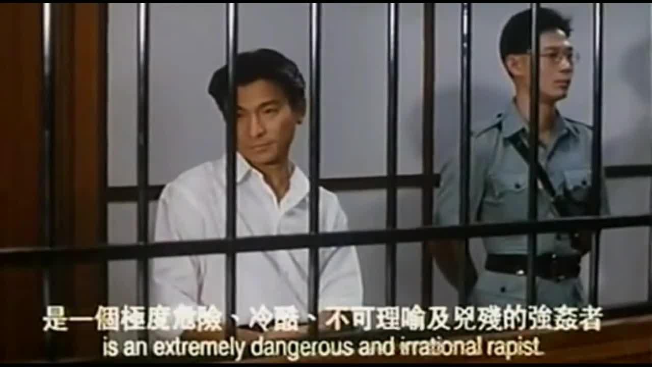 梁家辉早年的喜剧片一点都不比星爷差,可惜现在看不到了