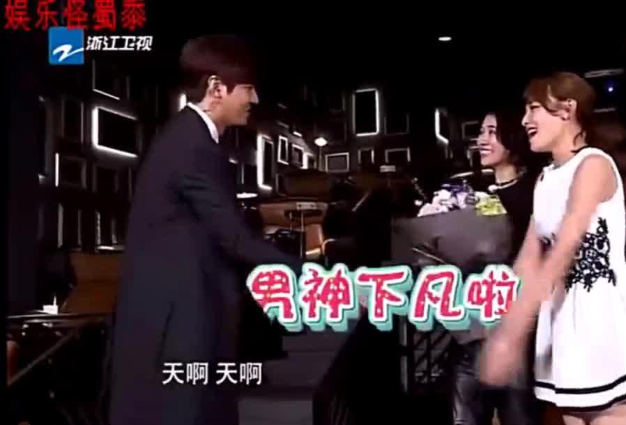 #袁咏仪#袁咏仪见到李敏镐说自己没老公!