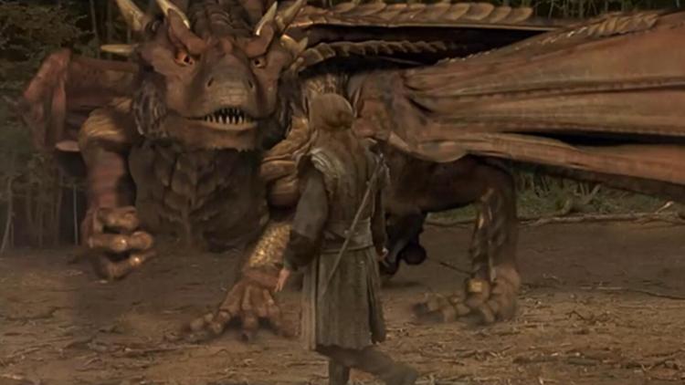 #经典看电影#小伙遇见一只千年巨龙,大战三天三夜后成为朋友,当上了英雄!