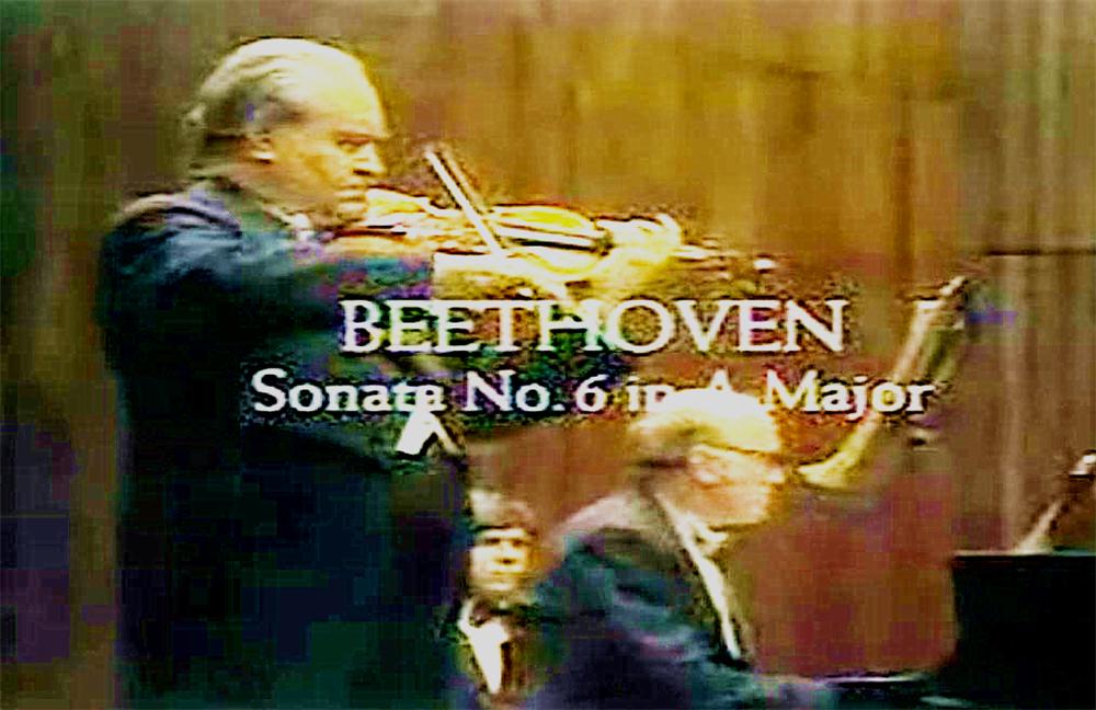 #小提琴奏鸣曲#贝多芬第6号小提琴奏鸣曲,奥伊斯特拉赫 里赫特