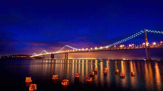 金门大桥又遭殃,万磁王将金门大桥连根拔起
