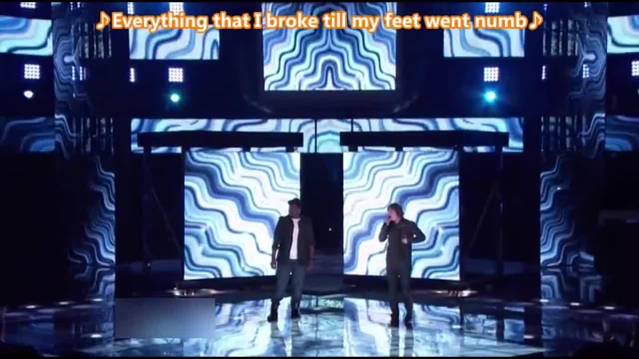 两位选手再次合作舞台,一首非常熟悉的歌曲