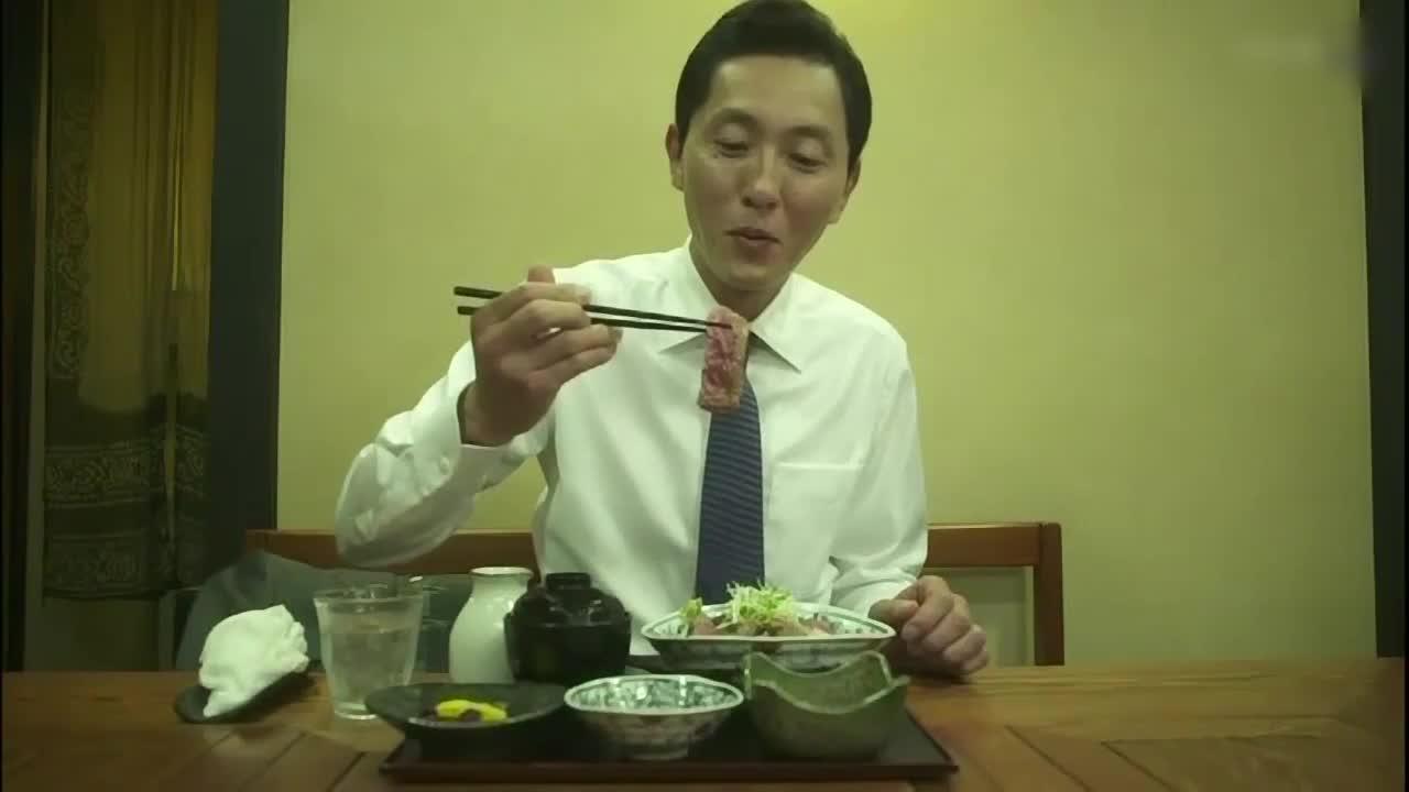 井之头五郎美食家,尝试牛排配酱料