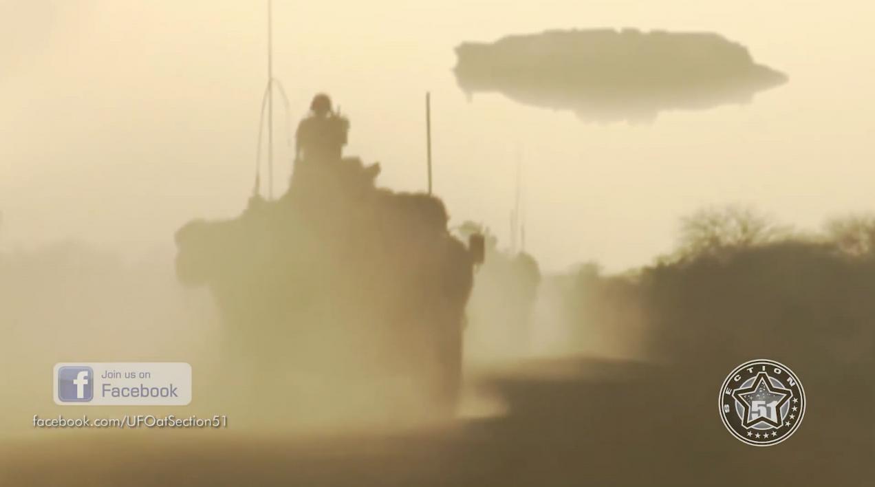 #不明飞行物#法国军队在马里沙漠风暴期间发现了不明飞行物!