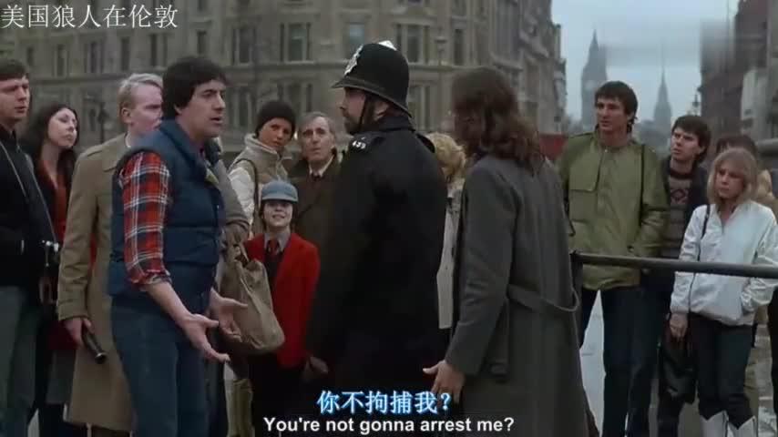 #电影片段#4分钟看完经典科幻电影《美国狼人在伦敦》