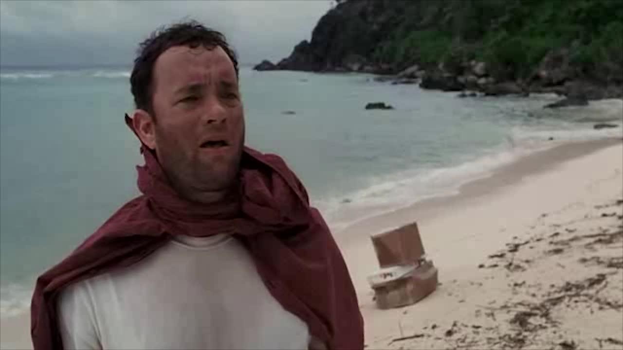 男子漂到岛上,除了椰子,啥吃的都没有