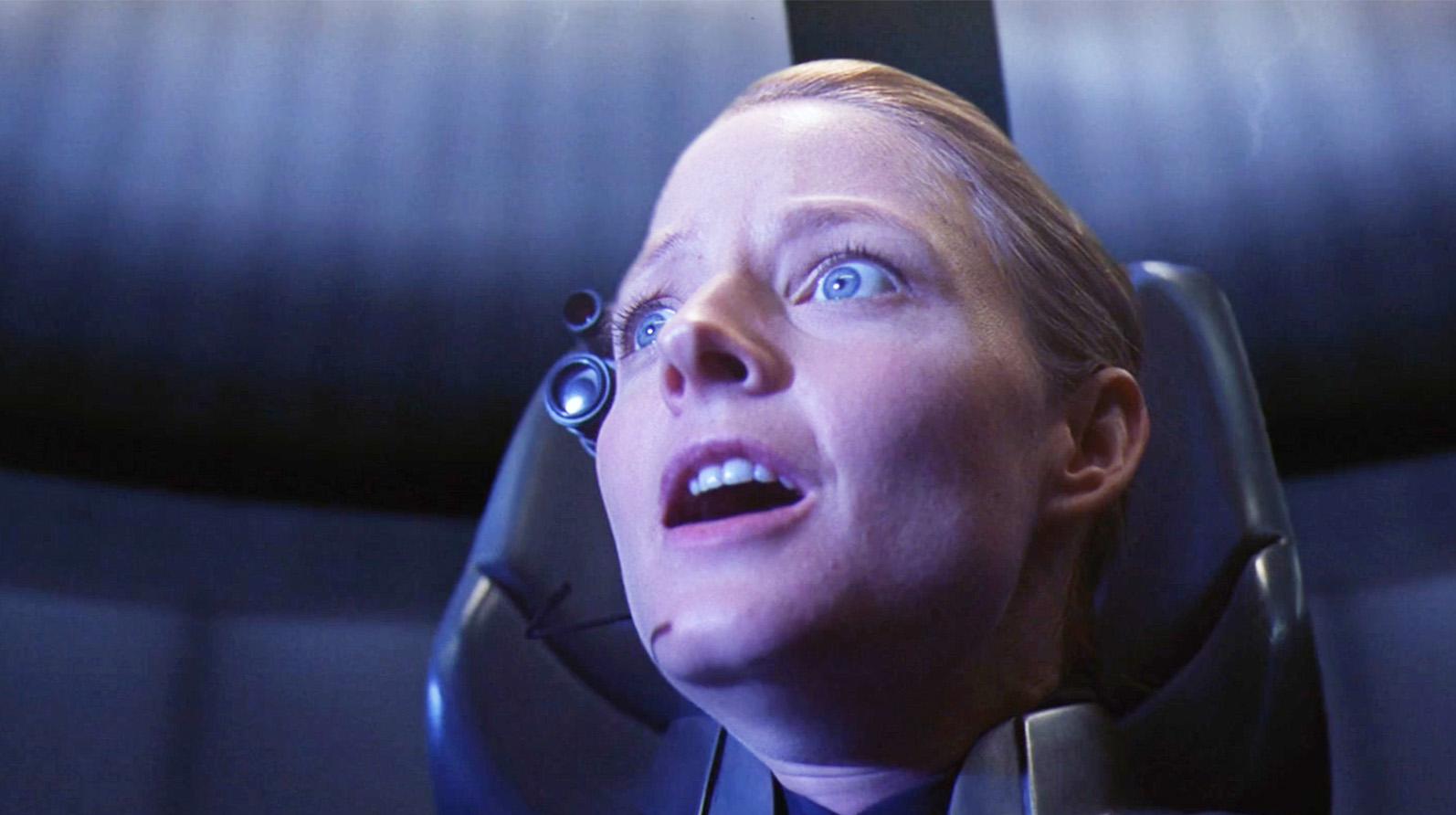 #经典看电影#女博士进入一个大球内,接触到奇怪生命体,但没有人相信她说的话