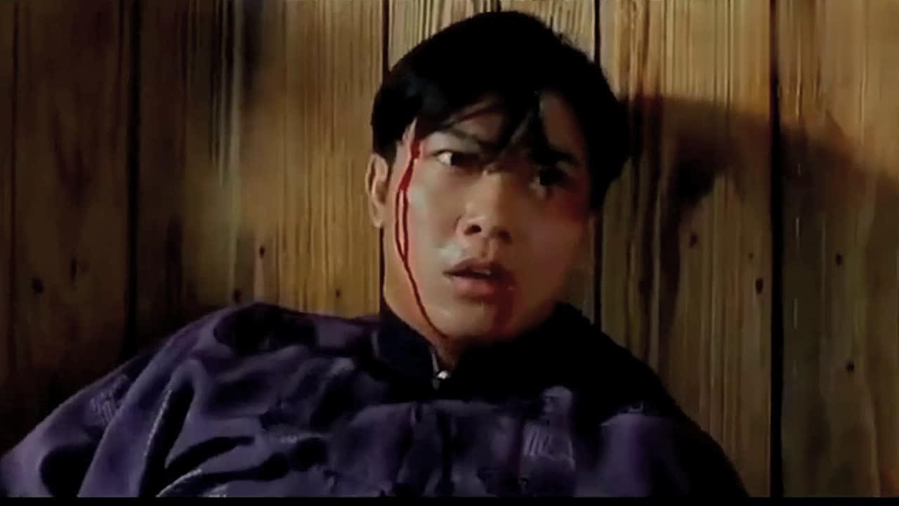 #电影片段#年轻的李连杰不靠颜值靠实力,巅峰之作《精武英雄》精彩片段
