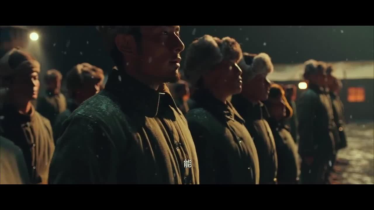 连夜紧急集合召集敢死队,女子出列,男子紧随出列