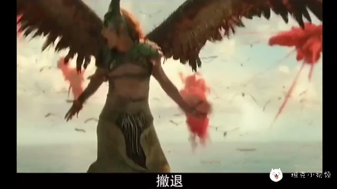 #电影迷的修养#战斗一触即发,从天而降的莫甘娜来袭!