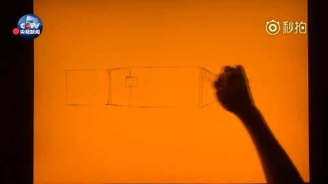 """1分钟沙画绘出""""天舟""""问世全过程!你见过这样的""""天舟""""吗"""