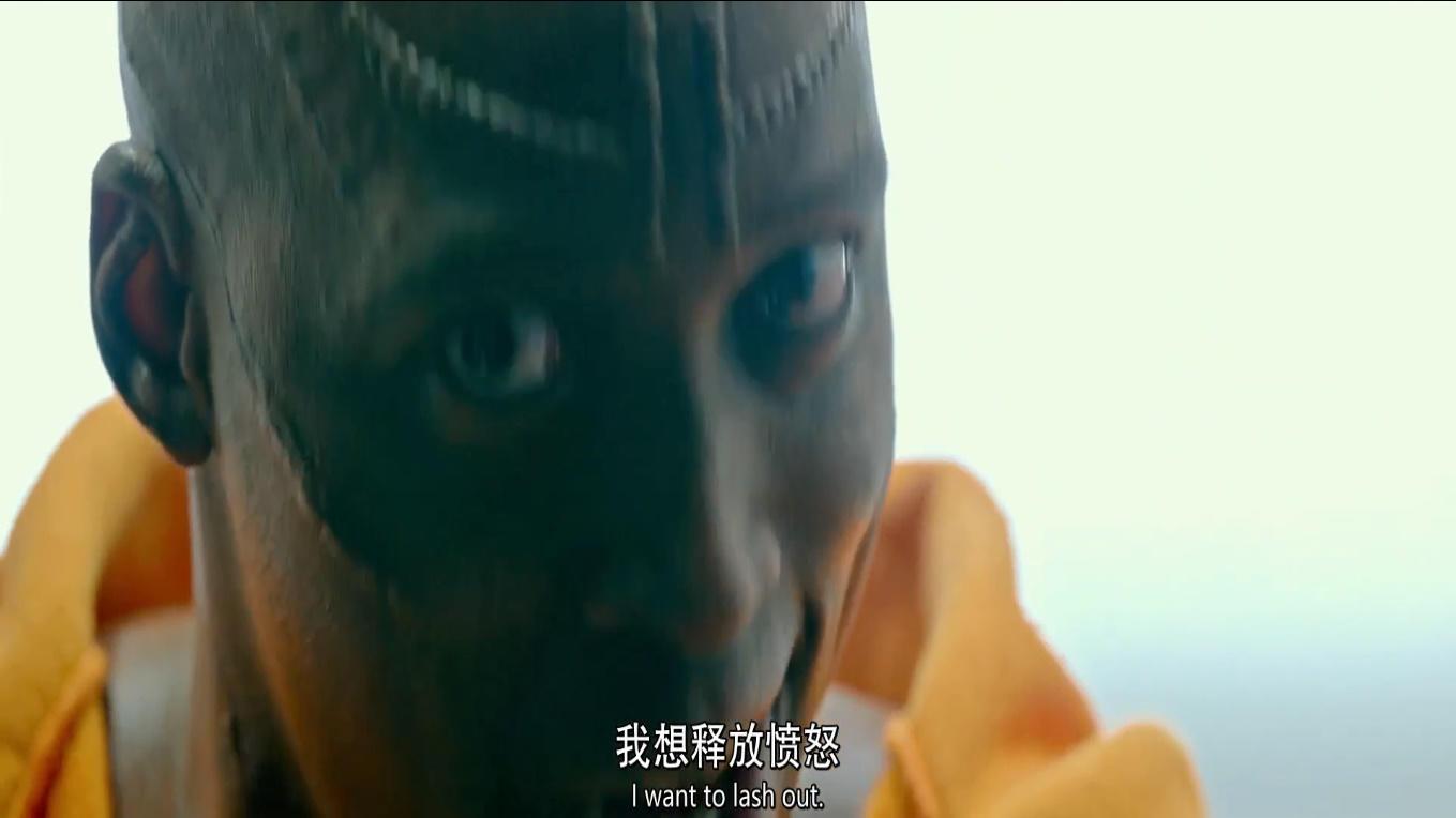 #电影最前线#黑人小哥加入人类清除计划,只是为报仇雪恨,面试官被吓懵!