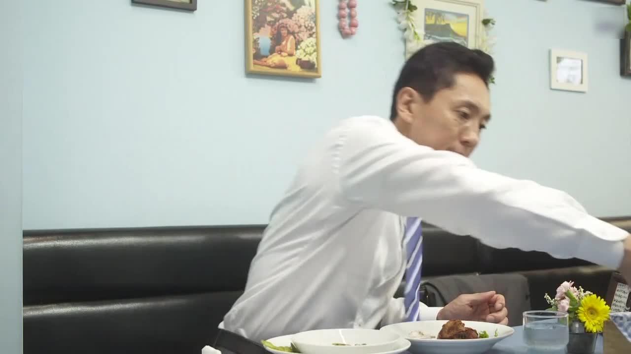 井之头五郎美食家,尝试糯米粉炸鸡