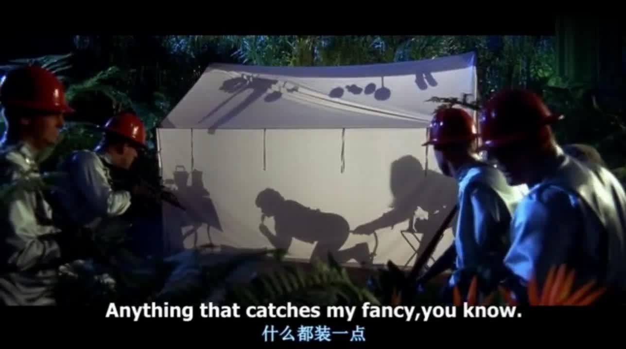 #经典看电影#帐篷外看像《恐怖片》,走进去却是《喜剧片》
