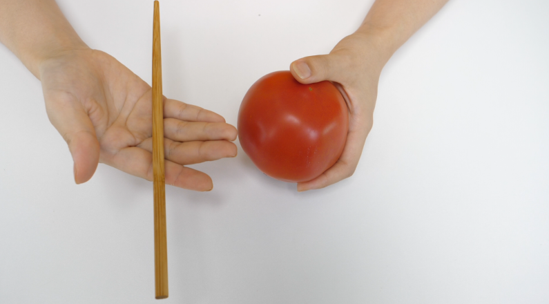 #西红柿去皮#吃了20多年西红柿,才知道把它和筷子放在一起的好处,涨知识了