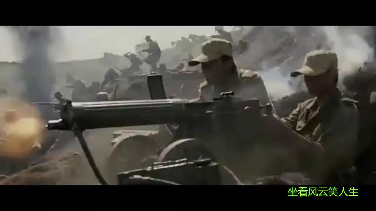 这是什么重机枪?太牛掰了,敢跟战斗机对射,一梭子打下一架