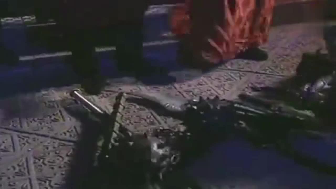 #经典看电影#吕布的方天画戟竟被当作柱子,幸好有薛仁贵识货