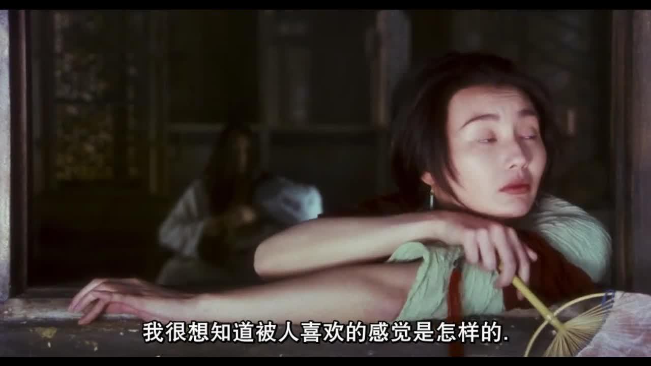#电影片段#《东邪西毒》张曼玉就这一段,感觉女主角似的