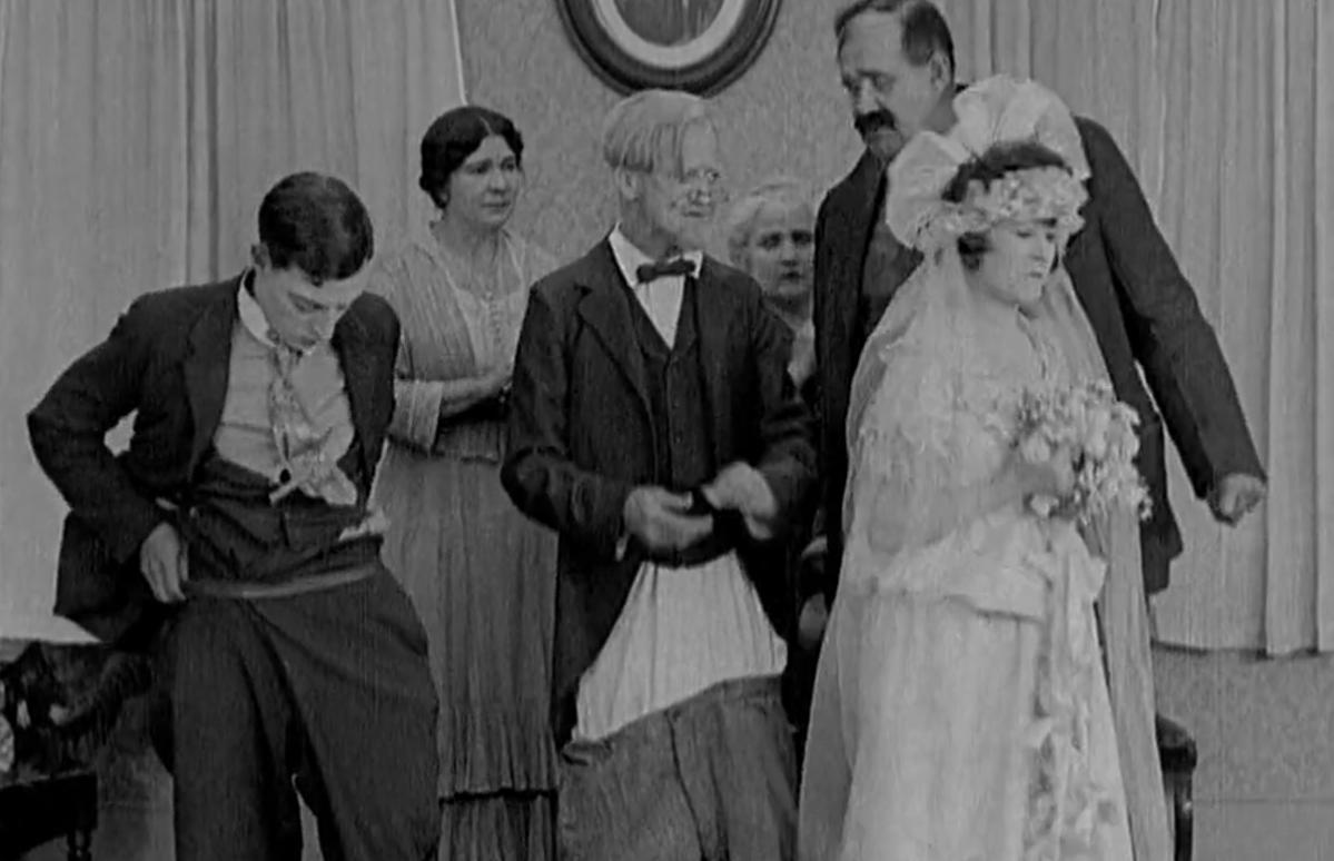 #经典看电影#罗密欧与茱丽叶式的平民喜剧,冷面喜剧大师基顿搞笑设计相当丰富
