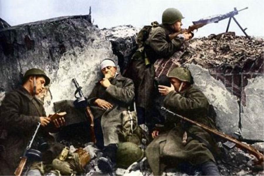 斯大林格勒战役:被誉为最残酷的战争,每名士兵平均活不过九分钟