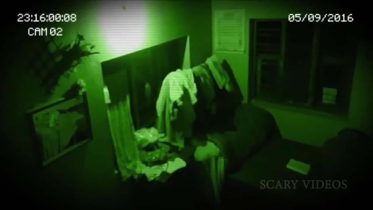 现实生活中的恐怖幽灵!有史以来最可怕的鬼视频!