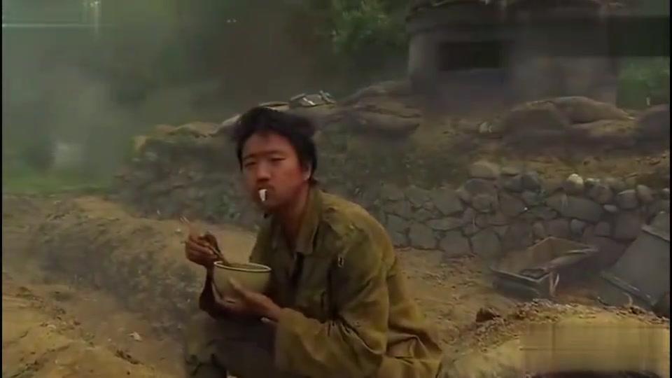 经历战争无数,才能如此淡定的吃口饭