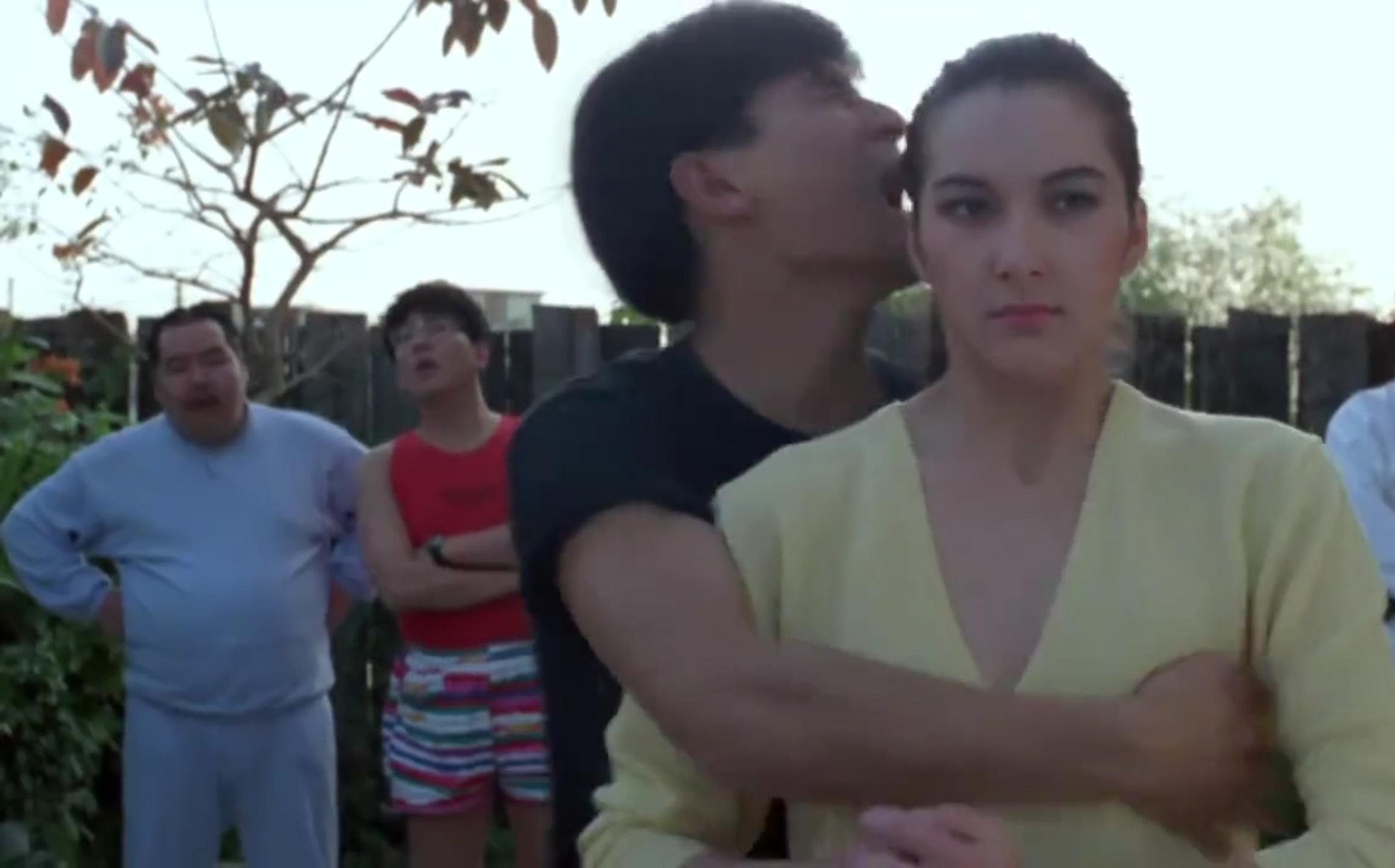 刘德华和美女玩自由搏击,华仔真是好身手啊!
