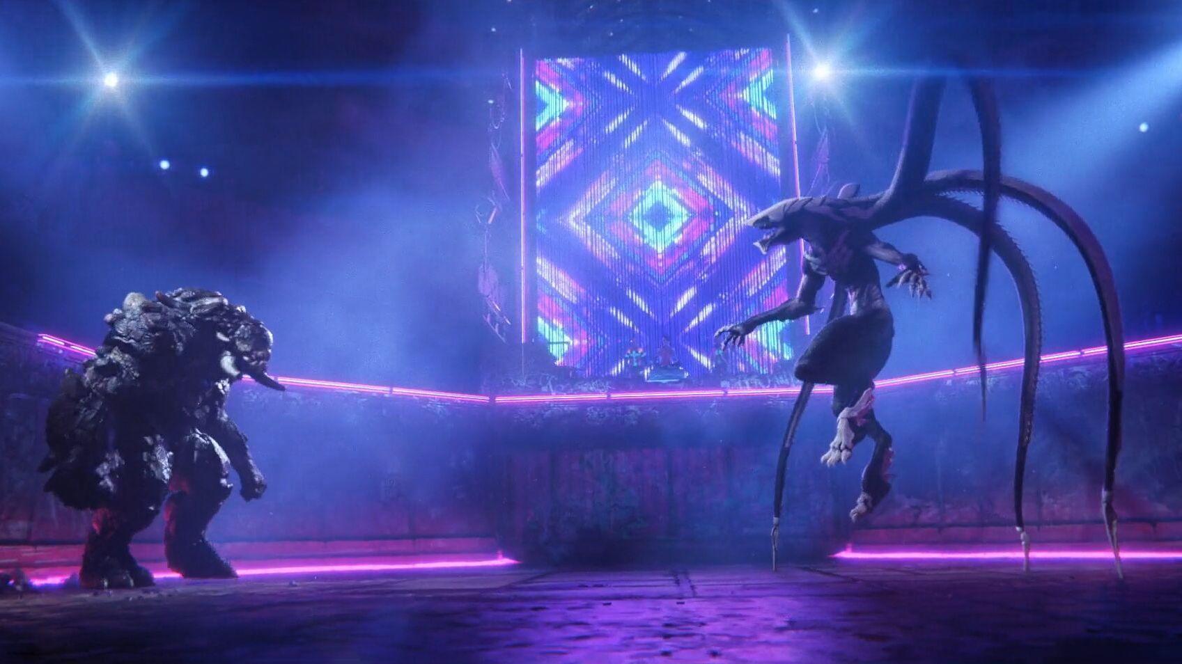 #电影最前线#斗兽场上的血腥厮杀,背后的操控者竟是可爱的机器人妹子