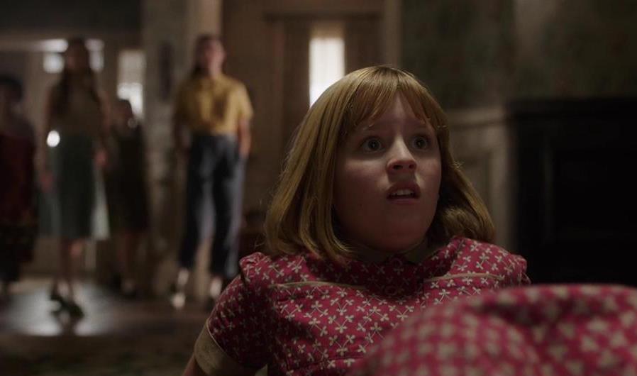 #惊悚看电影#三分钟看《安娜贝尔2》,少女晚上被恶鬼纠缠,看完肾上腺飙升!