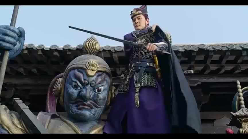 尉迟发现了亢龙锏的秘密,提刀大战环刀门
