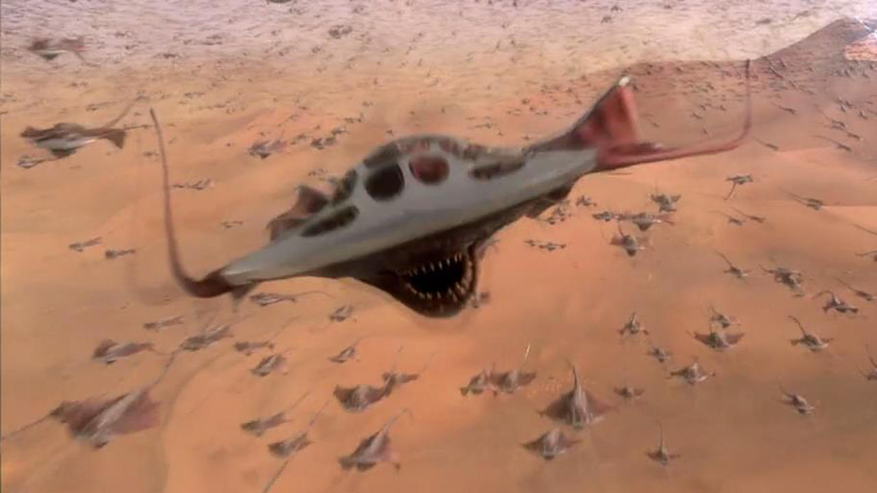#电影片段#《神秘博士:死亡星球》:外星怪兽肆虐,繁华都市瞬间成为了沙漠