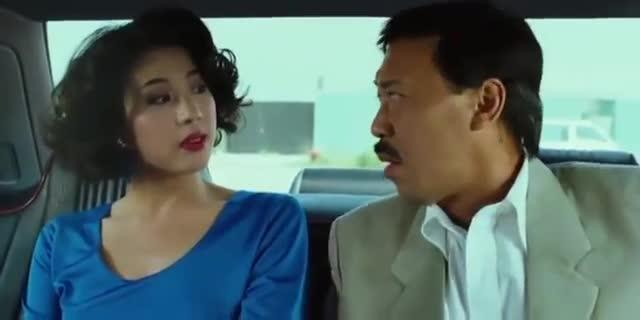 香港经典老电影,五福星撞鬼片段,五福星和性感美女