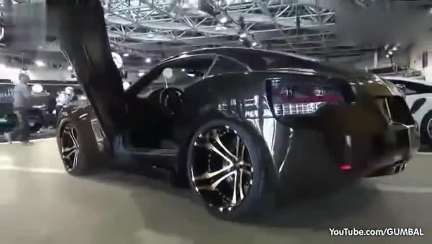 猜猜这是什么车改的,来看超酷另类改装车实拍!
