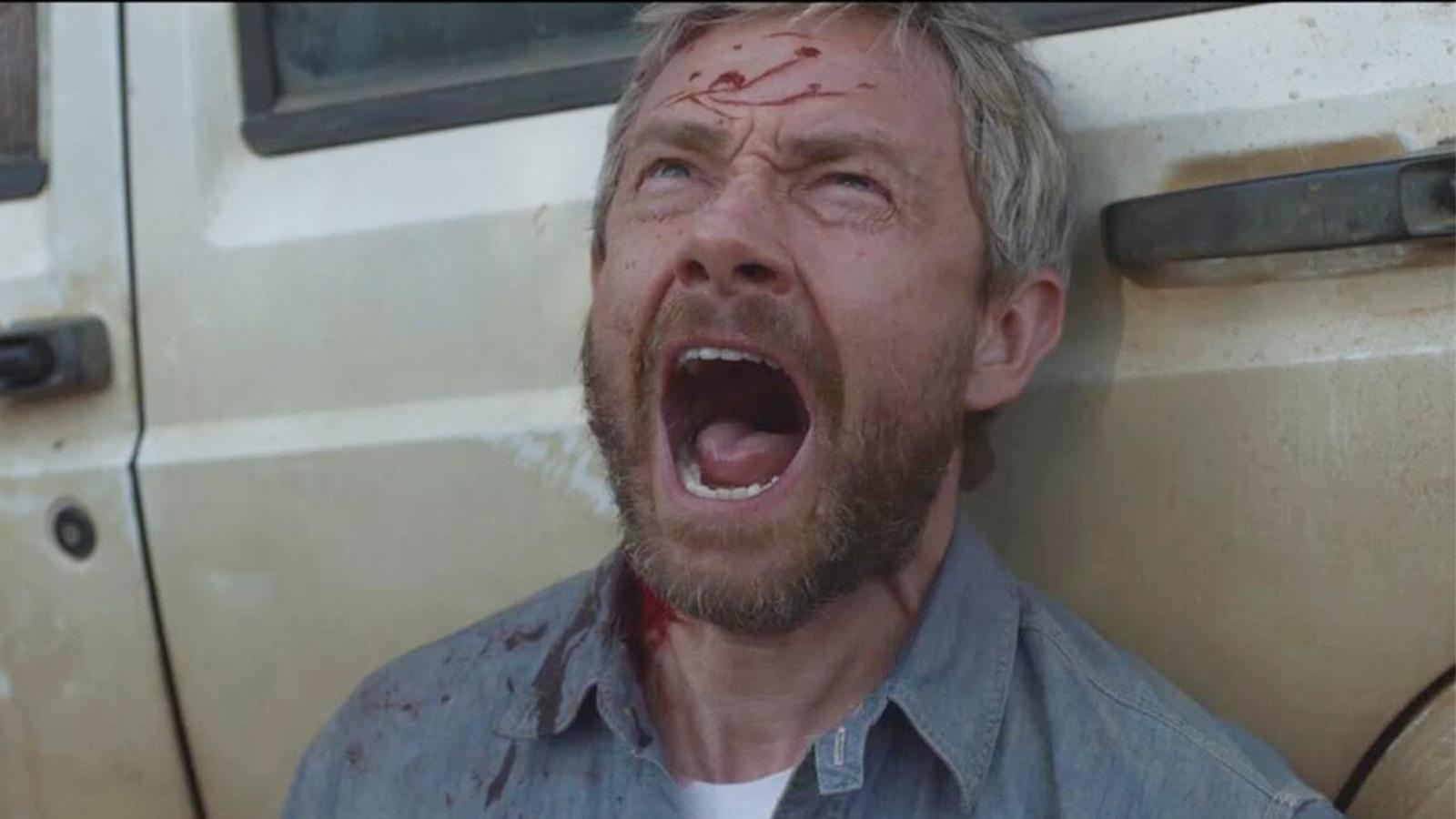 #经典看电影#父亲48小时后会变成丧尸,为了救背上的女儿,他选择伤害自己