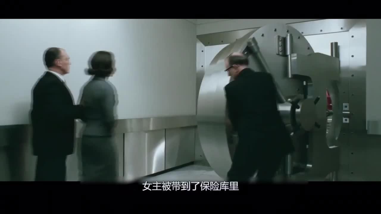 #影视#:清洁工老头潜入保险库,用垃圾车运走两吨钻石