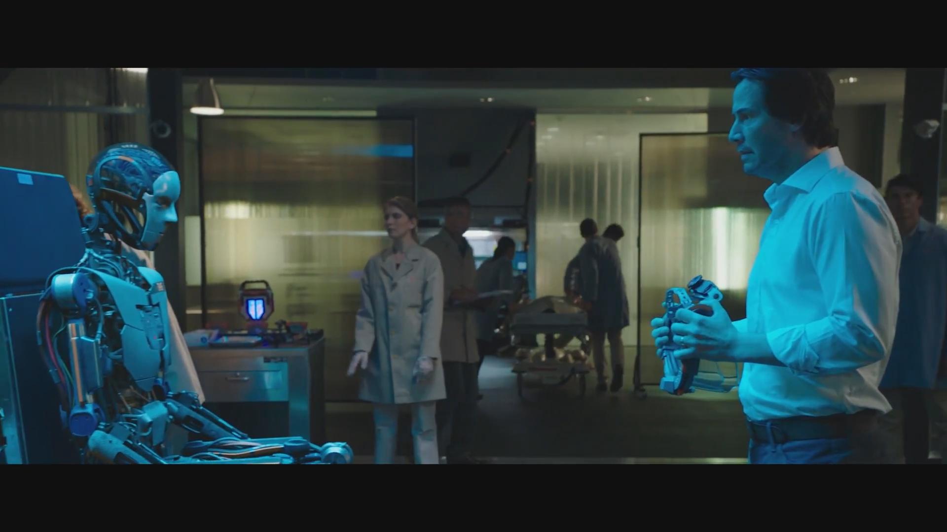 基努·里维斯2018年科幻新作《克隆人》首曝电影预告