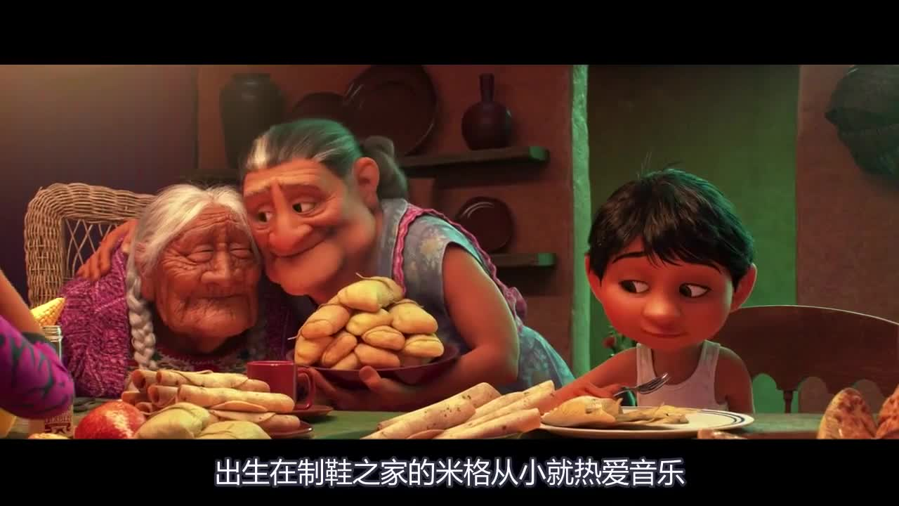 #《寻梦环游记》#这部关于梦想和亲情的动画片,让影院的我们哭成狗(1)