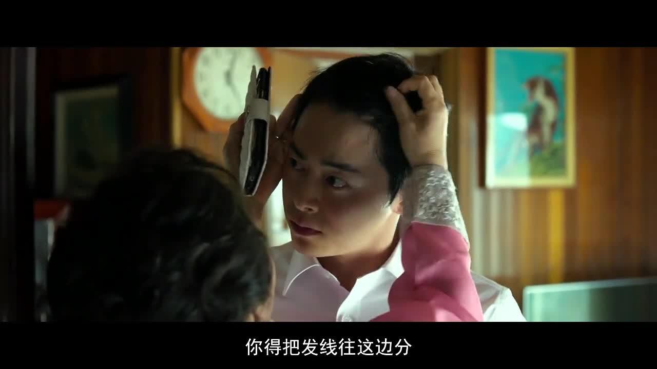 #电影片段#《极限逃生》精彩片段,别再猜了,你妈喜欢这样头型的你