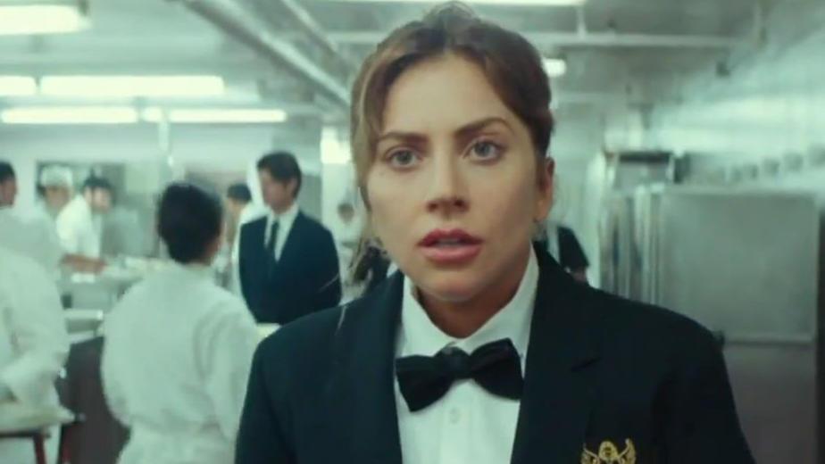#电影最前线#《一个明星的诞生》Lady Gaga辞职餐厅工作,上私人飞机