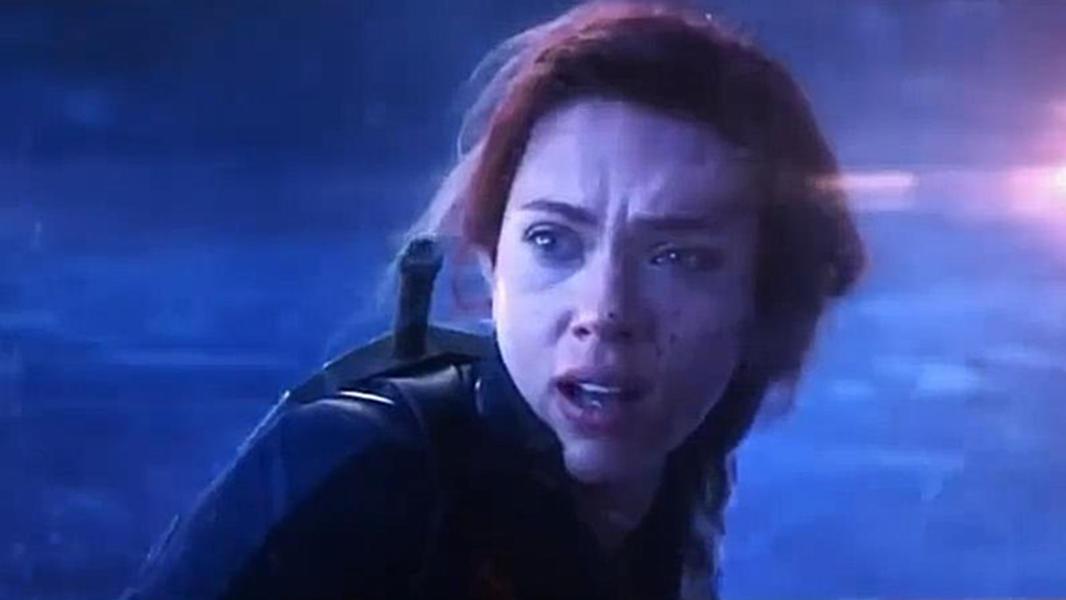 #电影片段#《复仇者联盟4:终局之战》黑寡妇鹰眼遭灭霸突袭,寡姐重伤跳崖