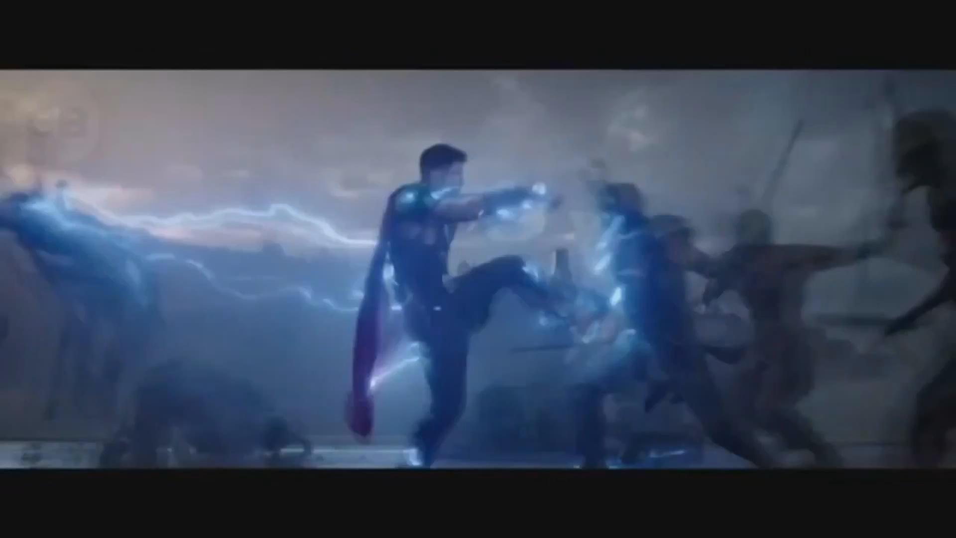 索尔闪电螺旋踢秒现《雷神3:诸神黄昏》最新电视版预告两连发