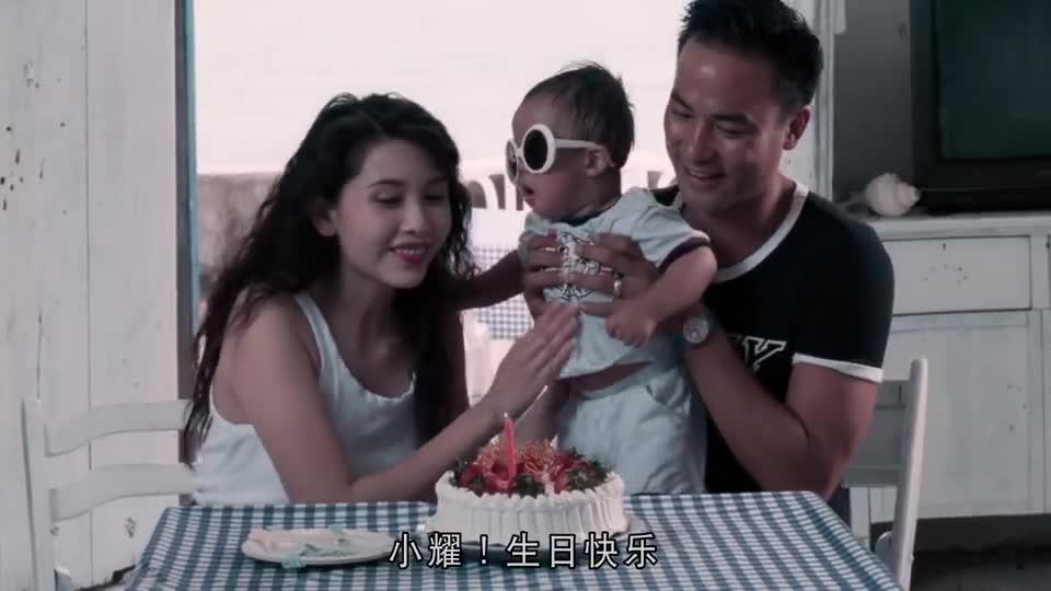 #经典看电影#邱淑贞人美心善,竟然不介意男友有儿子,还要当他的后母!