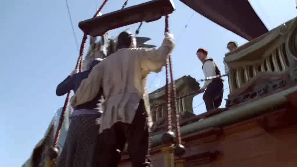 一艘海船上居然有牛人